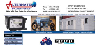 Alternate Solutions Group Gas Detectros, Fuel Systems