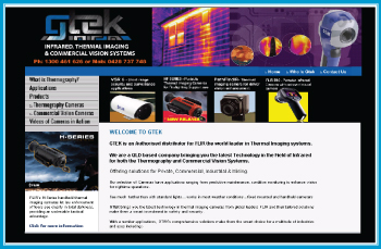 GTEK Infrared Thermal Imaging & Commercial Vision Systems (CVS)