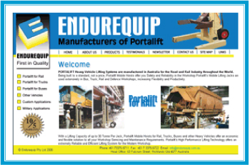 Endureuip Manufacturers of Portalift Lifting Equipment