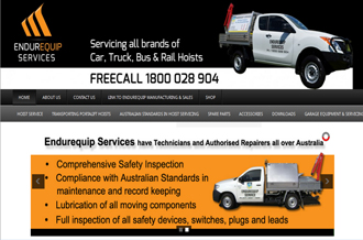 Endurequip Services - Service Department of Endurequip Pty Ltd