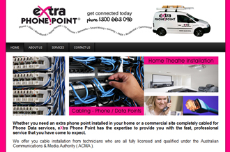 eXtra Phone Point - data and phone cablers, cabling, office relocation